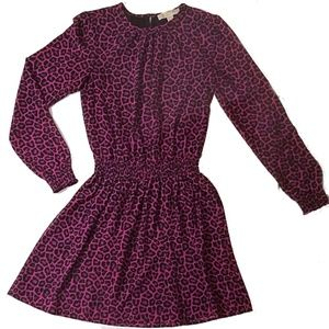 142 MICHAEL Kors Leopard Print Dress